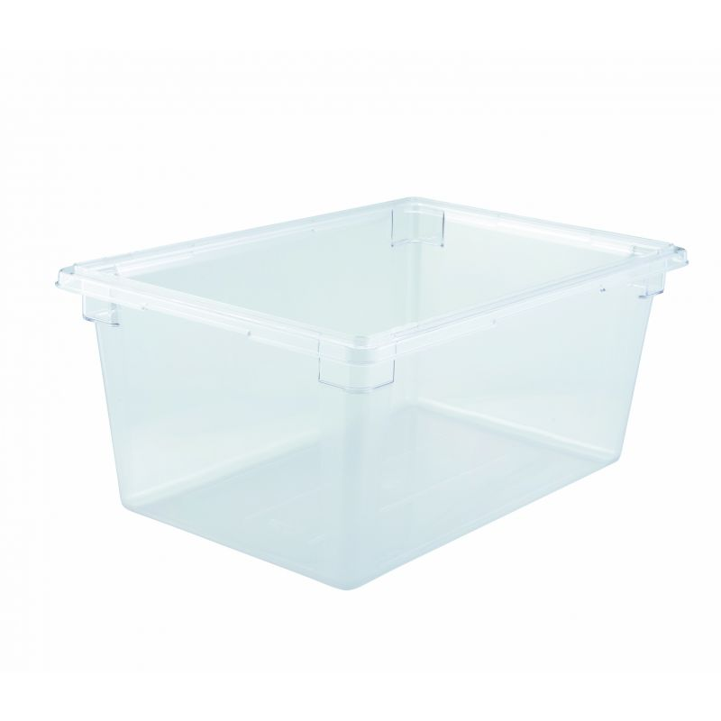 Food Storage Box, 18 inches x 26 inches x 12 inches, Clear, PC