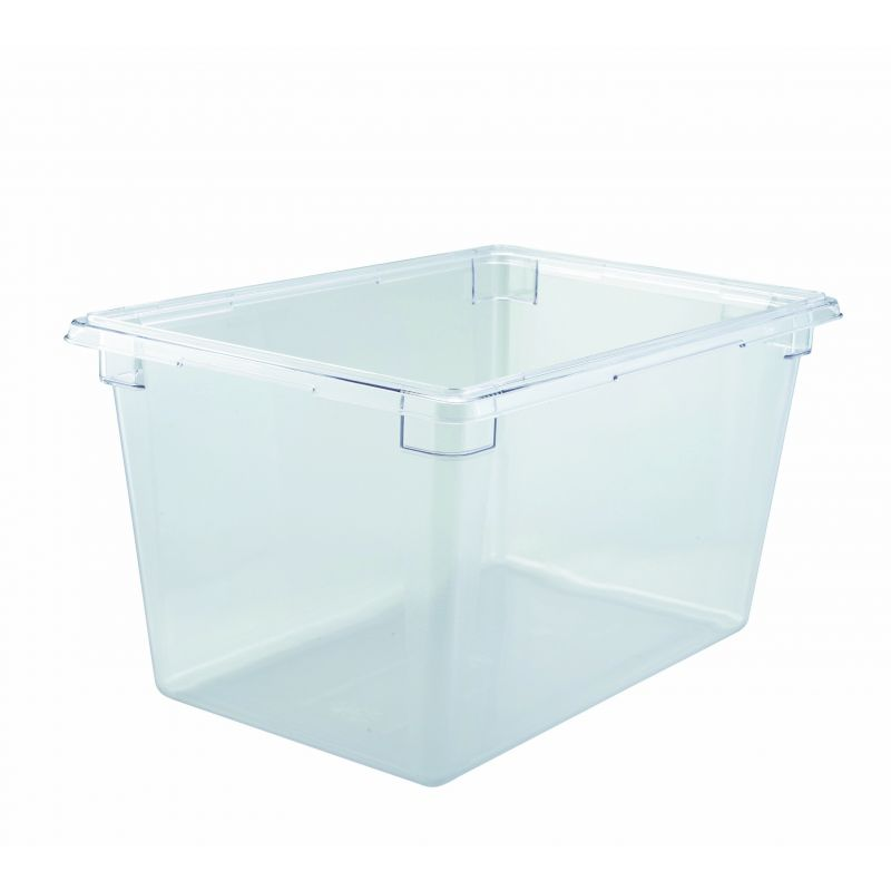 Food Storage Box, 18 inches x 26 inches x 15 inches, Clear, PC