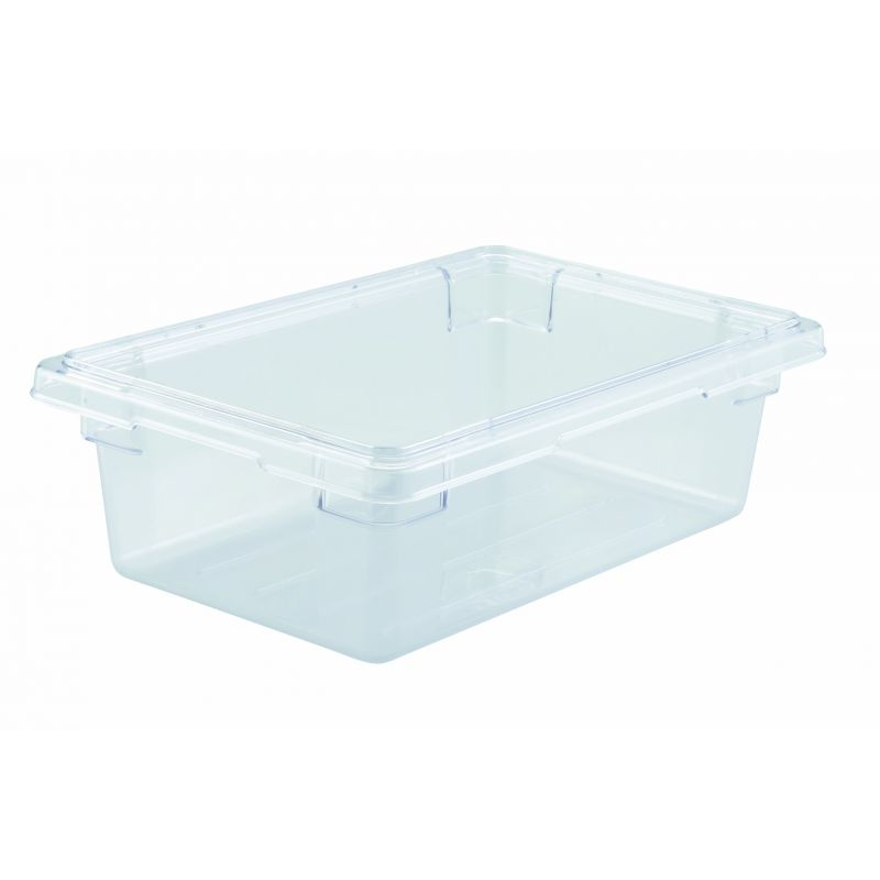 Food Storage Box, 12 inches x 18 inches x 6 inches, Clear, PC