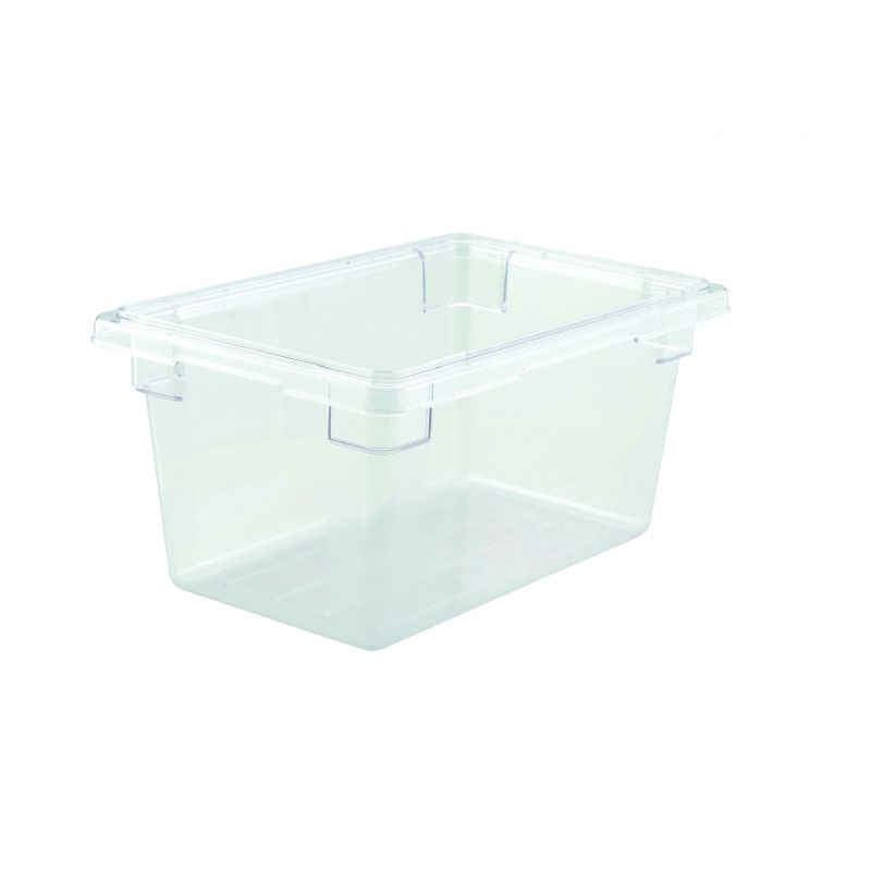 Food Storage Box, 12 inches x 18 inches x 9 inches, Clear, PC