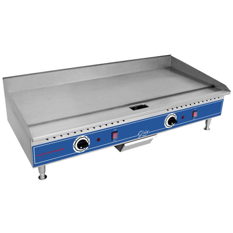 Globe Electric Counterop Griddle - 36 inches