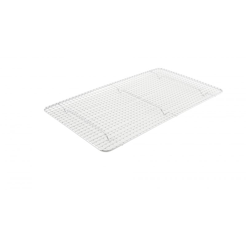 Pan Grate for Full-size Steam Pan, 10 inches x 18 inches, Chrome Plated