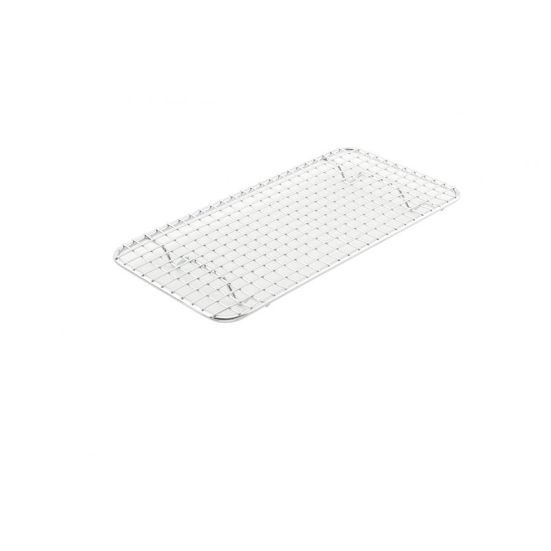 Pan Grate for Third-size Sheet Pan, 5 inches x 10-1/2 inches, Chrome Plated