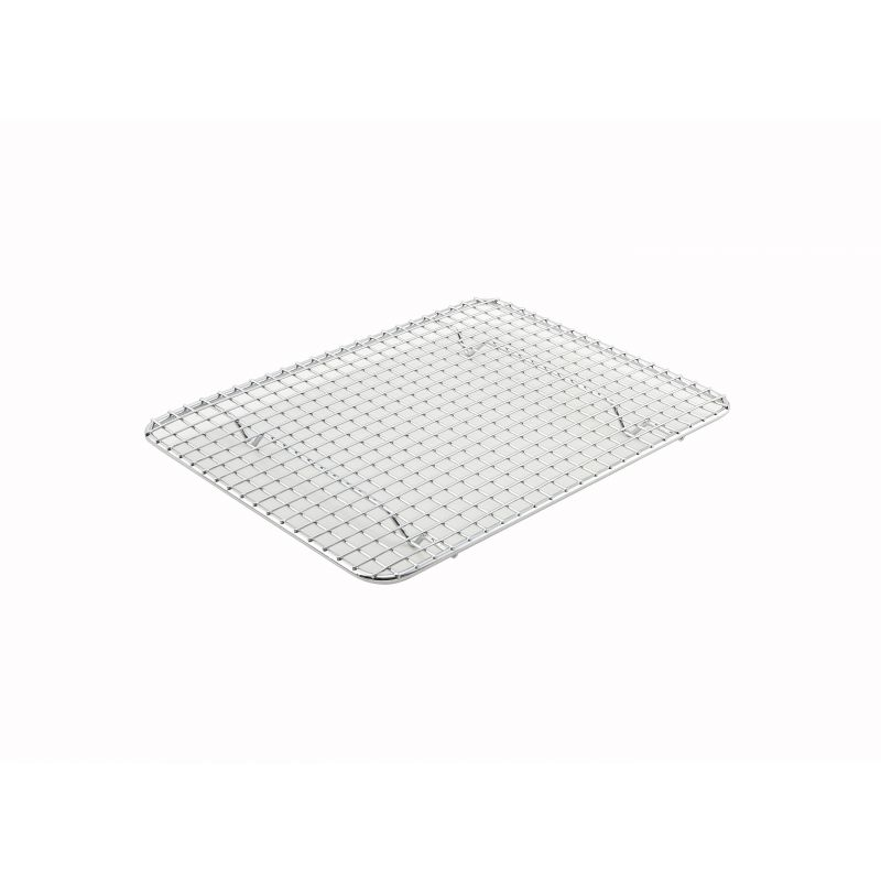 Pan Grate for Half-size Steam Pan, 8 inches x 10 inches, Chrome Plated