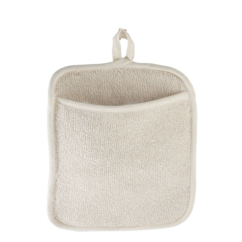 Pot Holder w/Pocket, 9-1/2 inches x 8-1/2 inches, Terry
