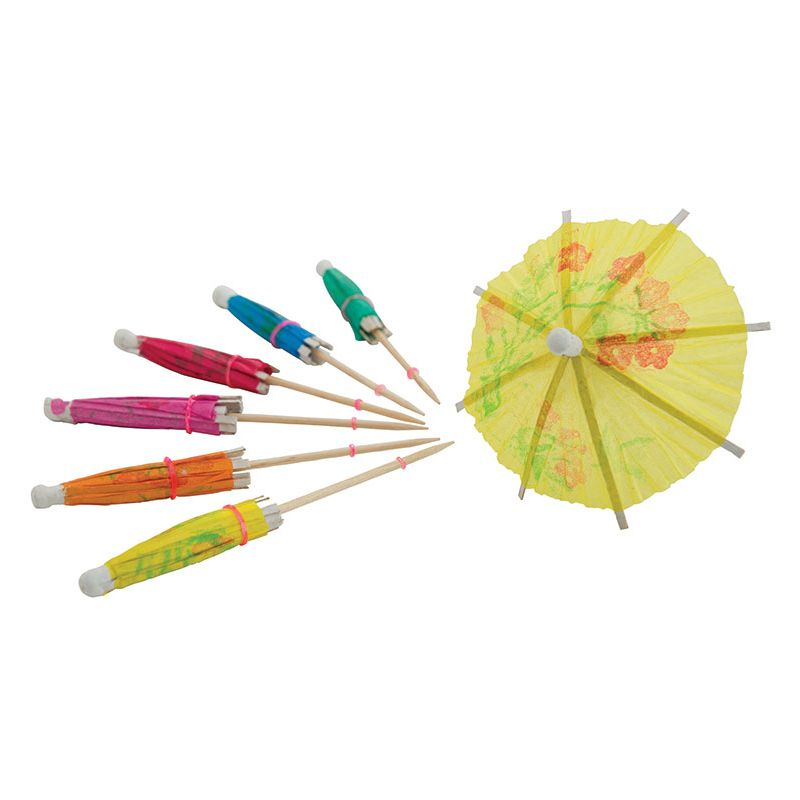 Picks, Umbrella, 144pcs/bag