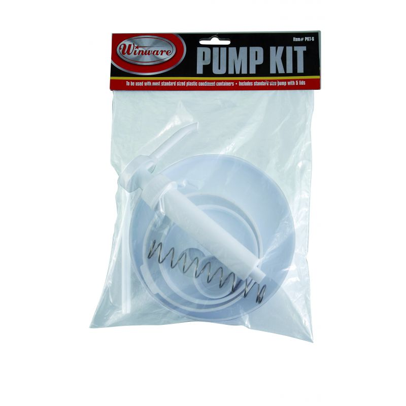 Pump Kit, 5 Lids