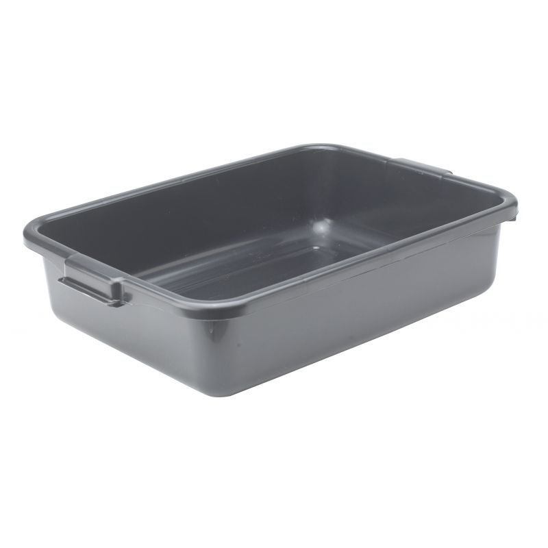 5 inches Dish Box, Standard Weight, Black