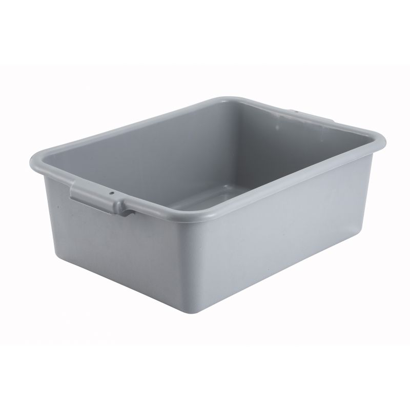 7 inches Dish Box, Standard Weight, Gray