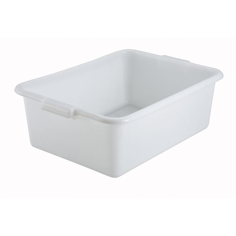 7 inches Dish Box, Standard Weight, White