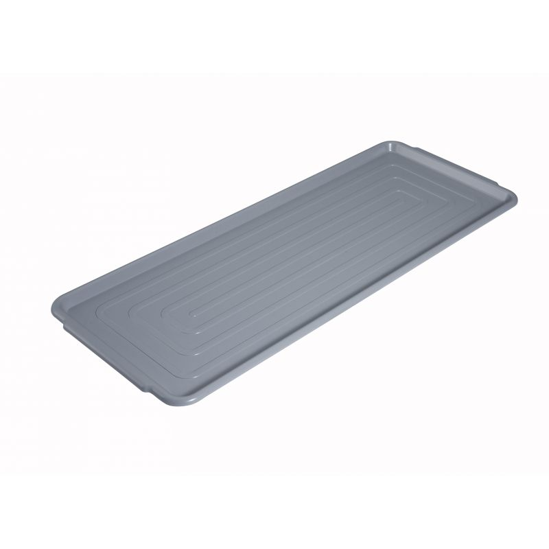 Market Tray, PC, 12 inches x 30 inches, Gray