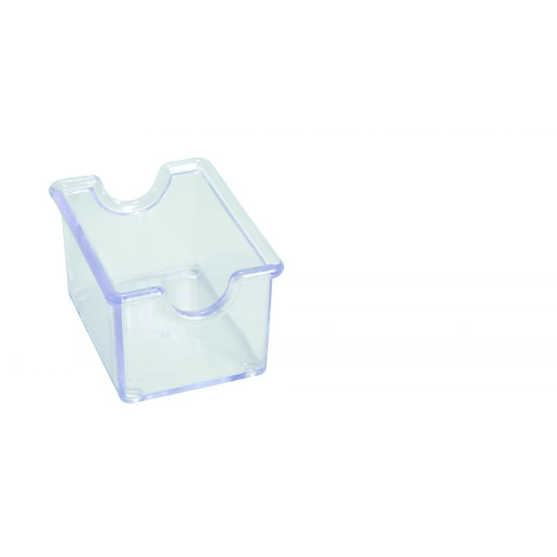 Sugar Packet Holder, Plastic, Clear