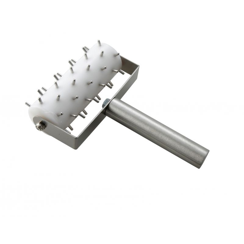 Dough Roller Docker, 5 inches Head, S/S Hdl