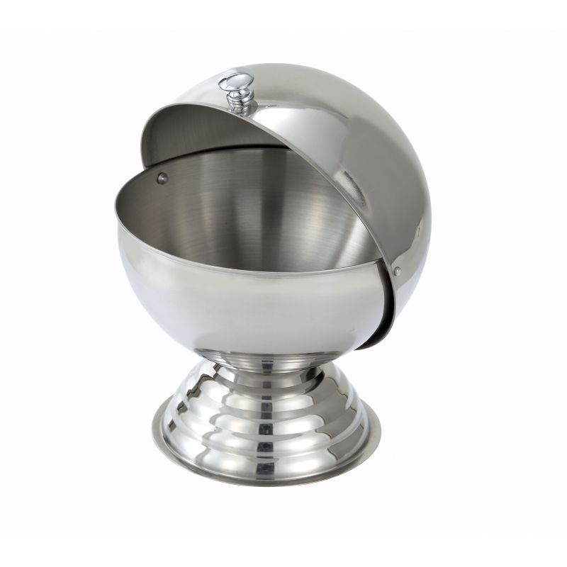 20oz Sugar Bowl, Roll Top, S/S