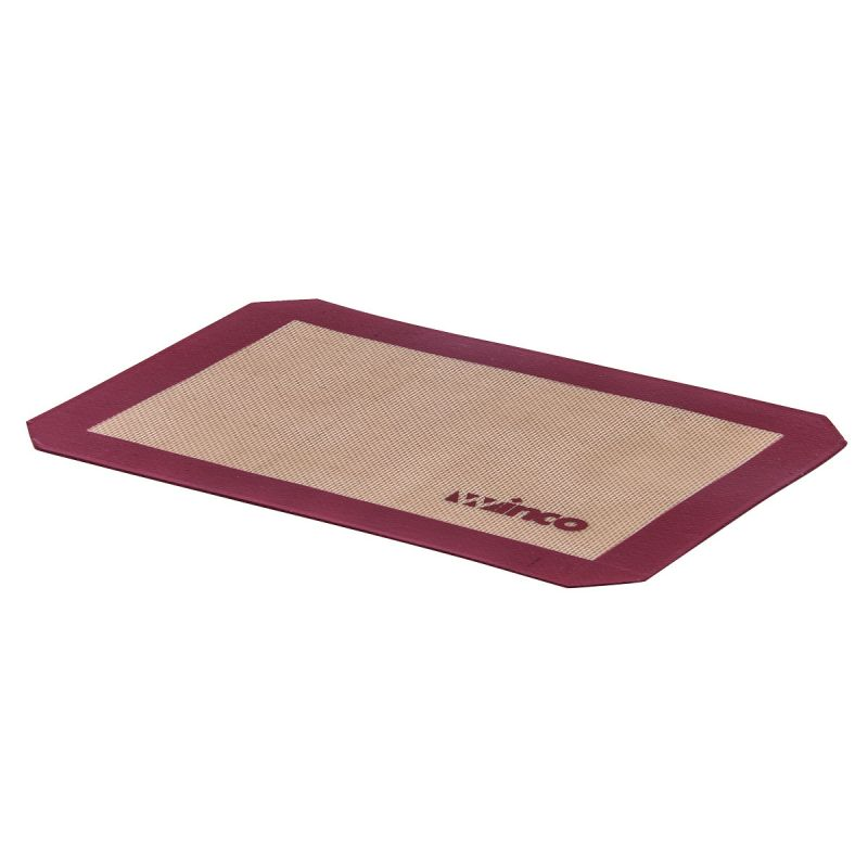 Purple Silicone Baking Mat, Half-size, 11-5/8 inches x 16-1/2 inches, Allergen Free