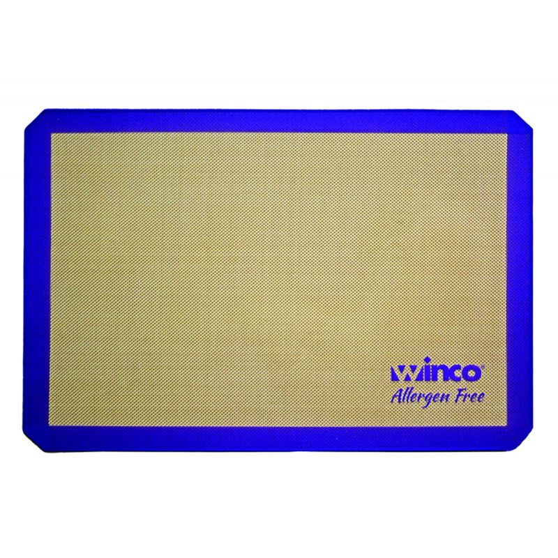 Purple Silicone Baking Mat, Two Third-size 14-7/16 inches x 20-1/2 inches, Allergen Free