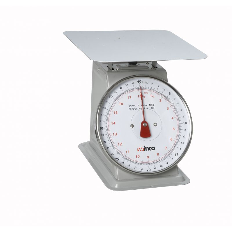 40Lbs Receiving Scale, 8 inches Dial