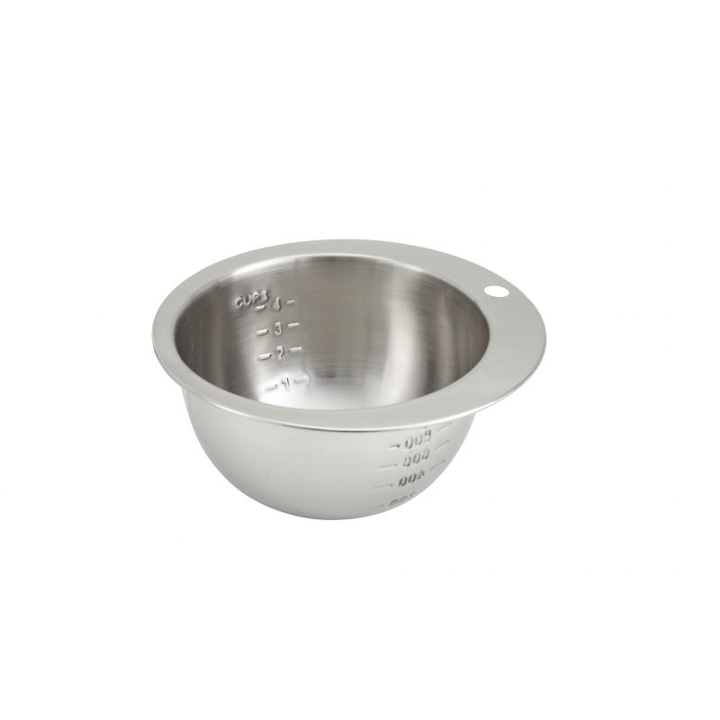 4 Cups Measuring Bowl, S/S
