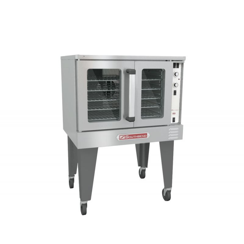 Bronze Convection Gas Oven - Single Deck