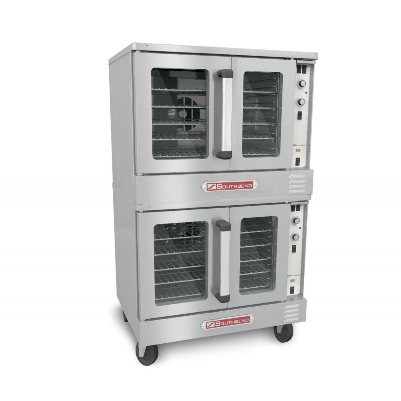 Bronze Convection Gas Oven - Double Deck