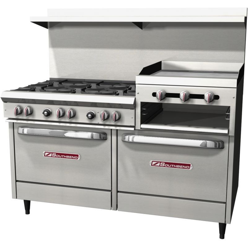 S-Series Restaurant Gas Range - 60 inches