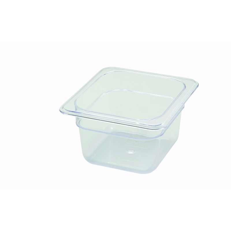 PC Food Pan, 1/6 Size, 4 inches