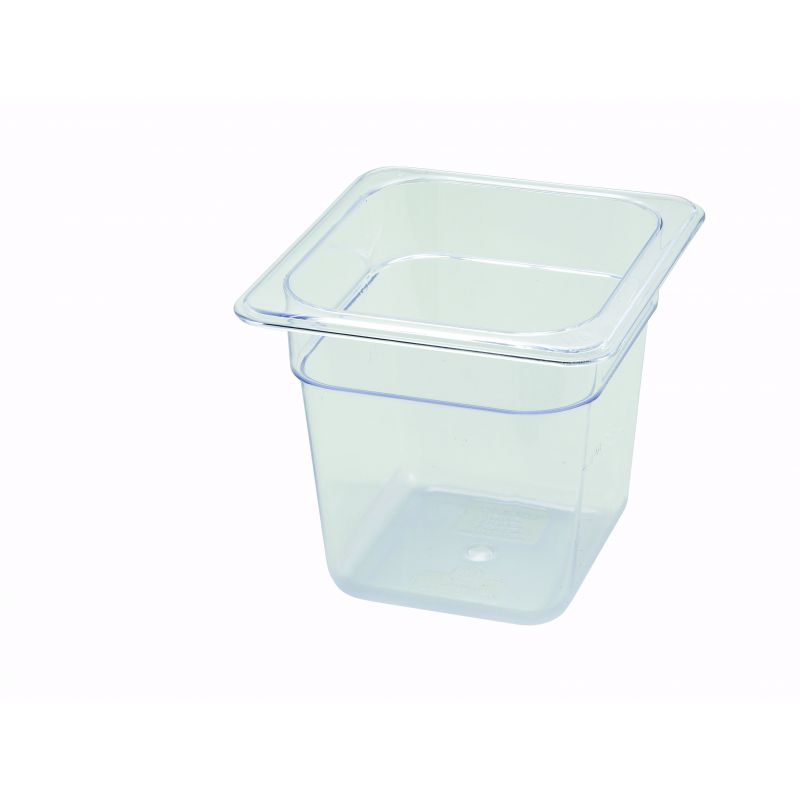 PC Food Pan, 1/6 Size, 6 inches