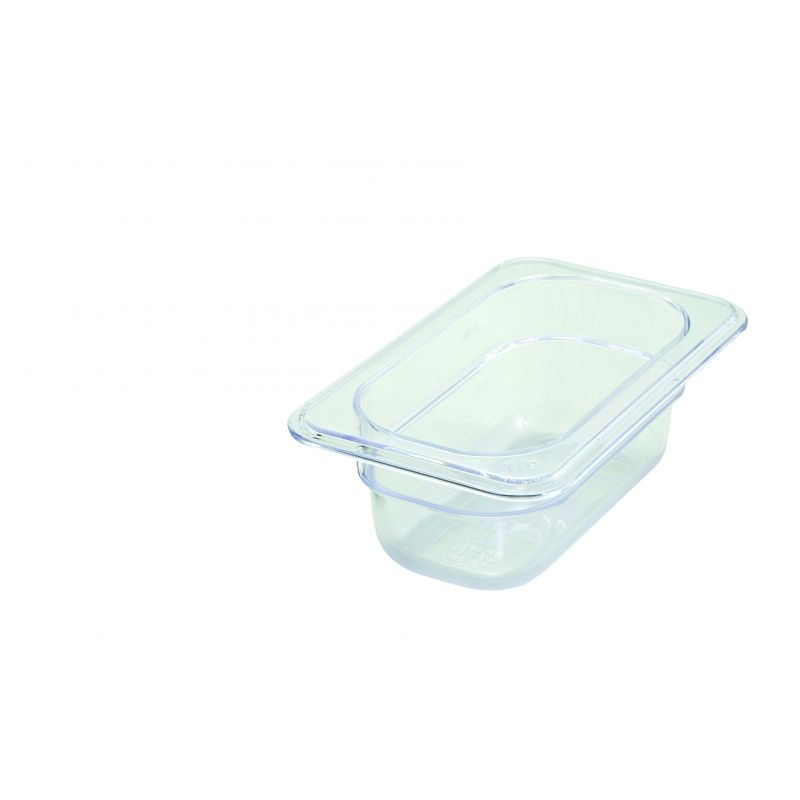 PC Food Pan, 1/9 Size, 2-1/2 inches