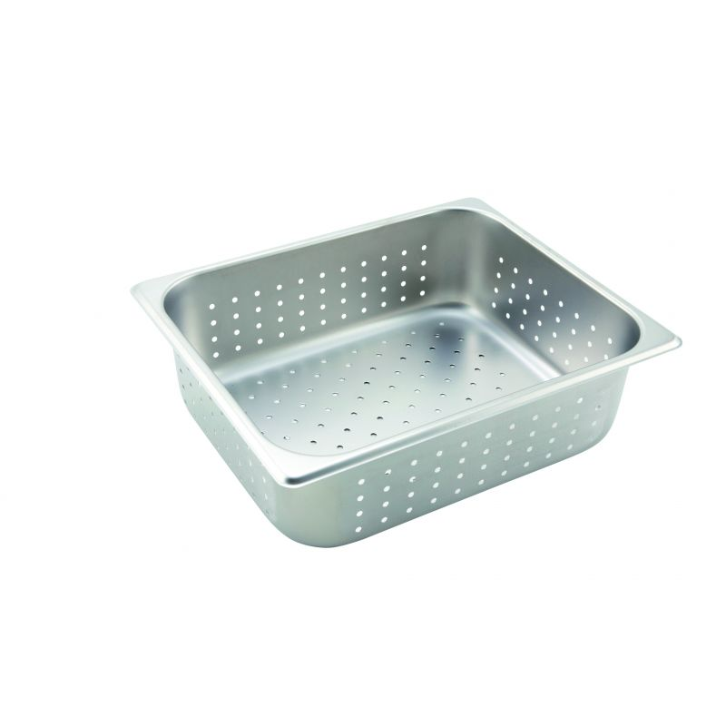 Perforated Steam Pan, Half-size, 4 inches, S/S