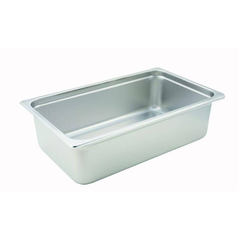Anti-jam Steam Pan, Full-size, 6 inches, 22 Ga S/S