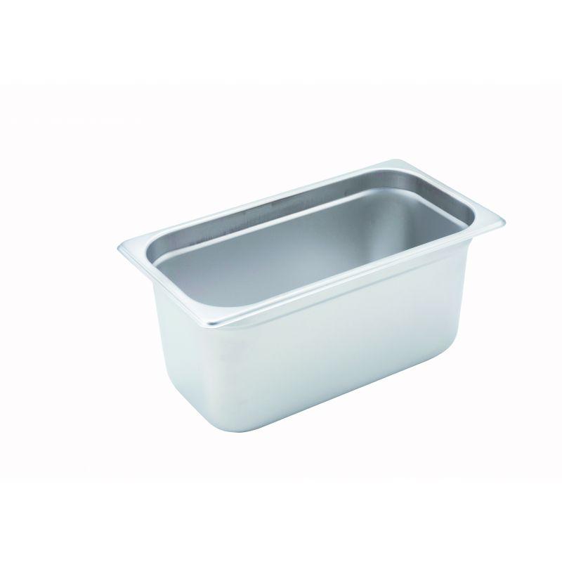 Anti-jam Steam Pan, 1/3 Size, 6 inches, 22 Ga S/S