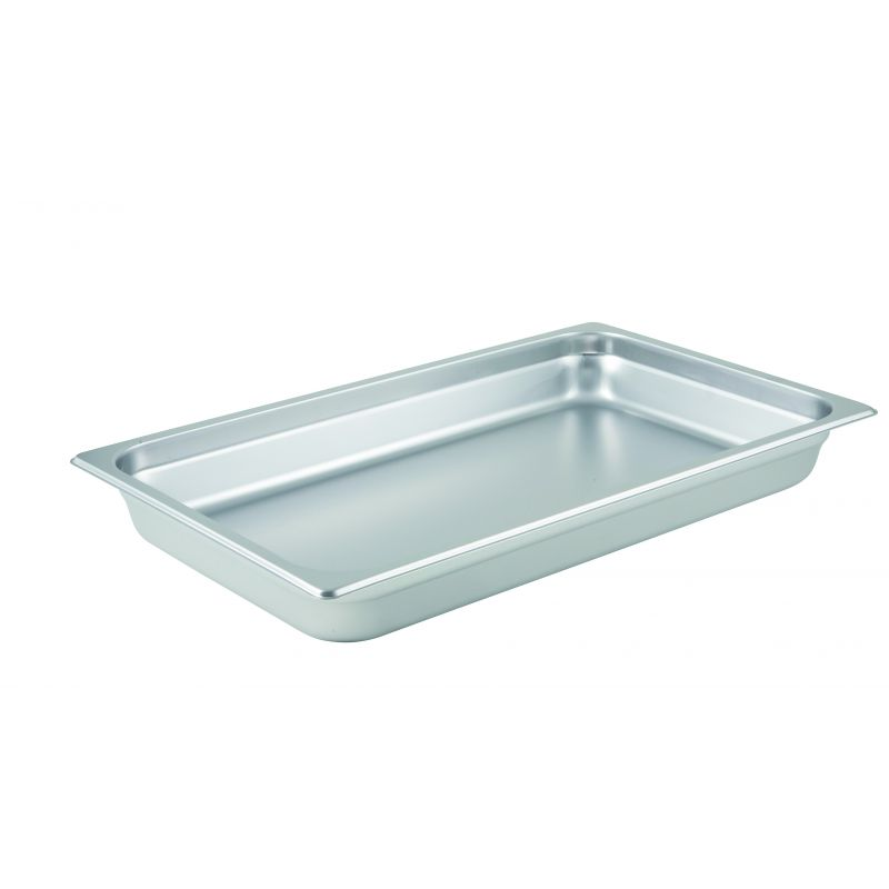 Anti-jam Steam Pan, Full-size, 2-1/2 inches, 25 Ga S/S