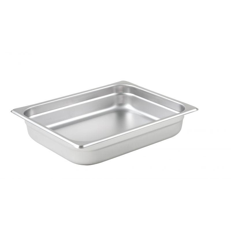 Anti-jam Steam Pan, Half-size, 2-1/2 inches, 25 Ga S/S