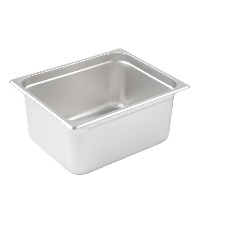 Anti-jam Steam Pan, Half-size, 6 inches, 25 Ga S/S
