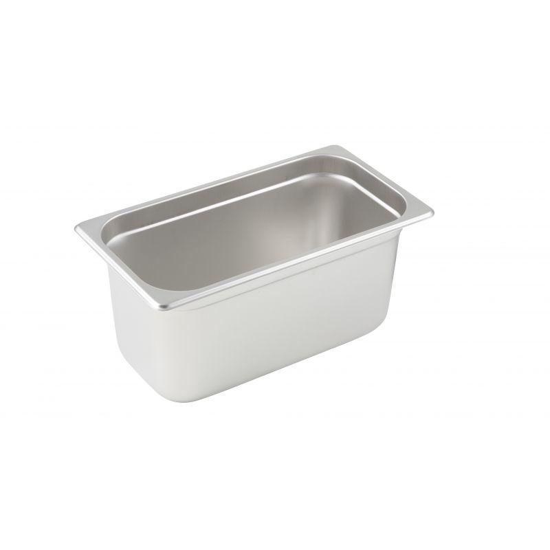 Anti-jam Steam Pan, 1/3 Size, 6 inches, 25 Ga S/S