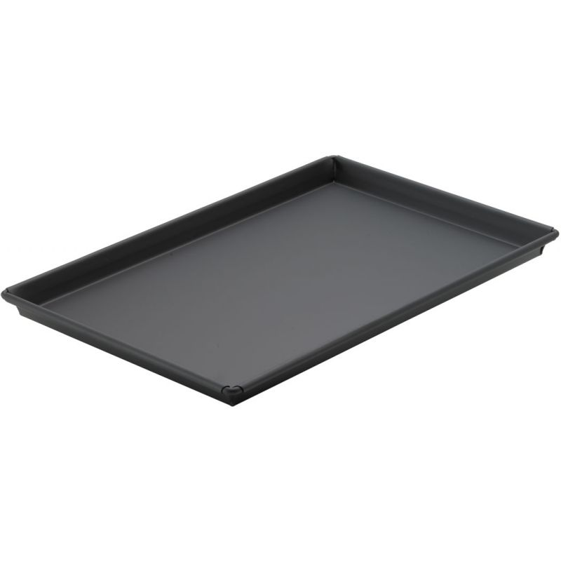 Sicilian Pizza Pan, 12 inches x 18 inches x 1 inches, Heavyweight Rolled Steel, Non-stick