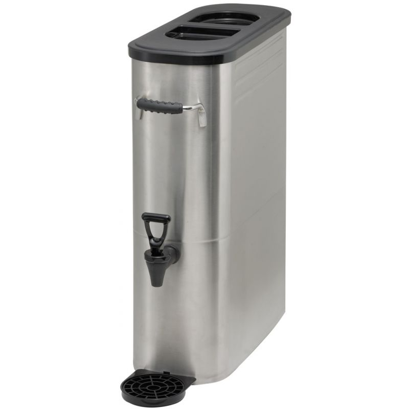3gal Slim Iced Tea Dispenser, S/S