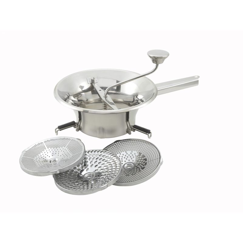 9 inches Food Mill, 3 Graters, S/S