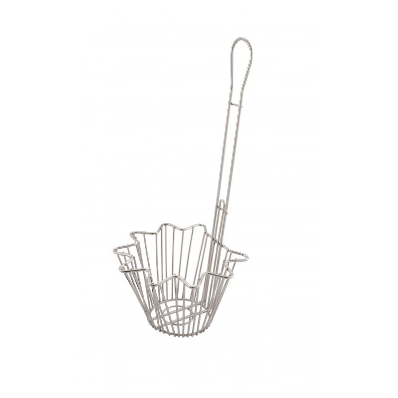 Taco Salad Bowl Fry Basket, Round, 18 inches Hdl