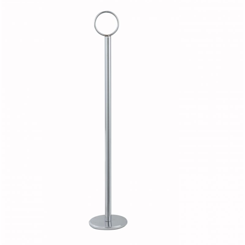 8 inches Table Number Holder, Chrome