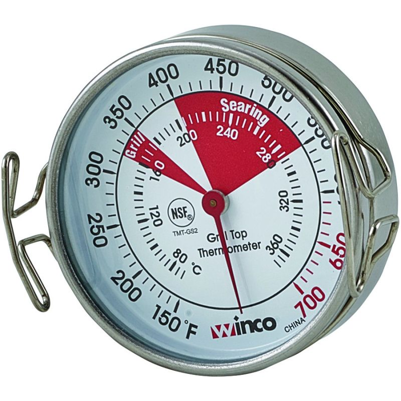 Grill Surface Thermometer, 2-1/4 inches Dial