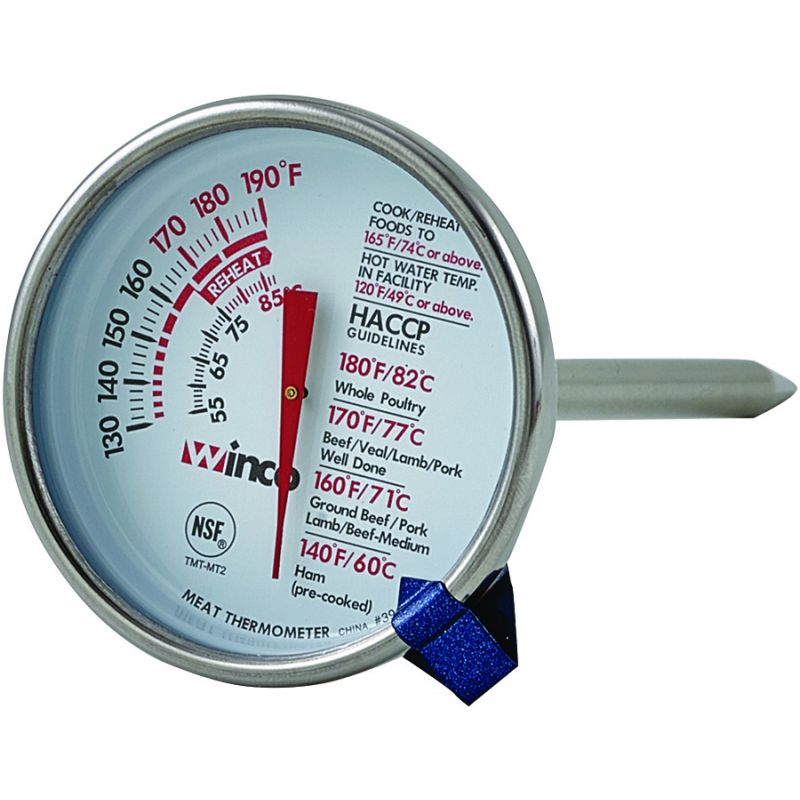 Meat Thermometer, 2 inches Dial, 5 inches Probe