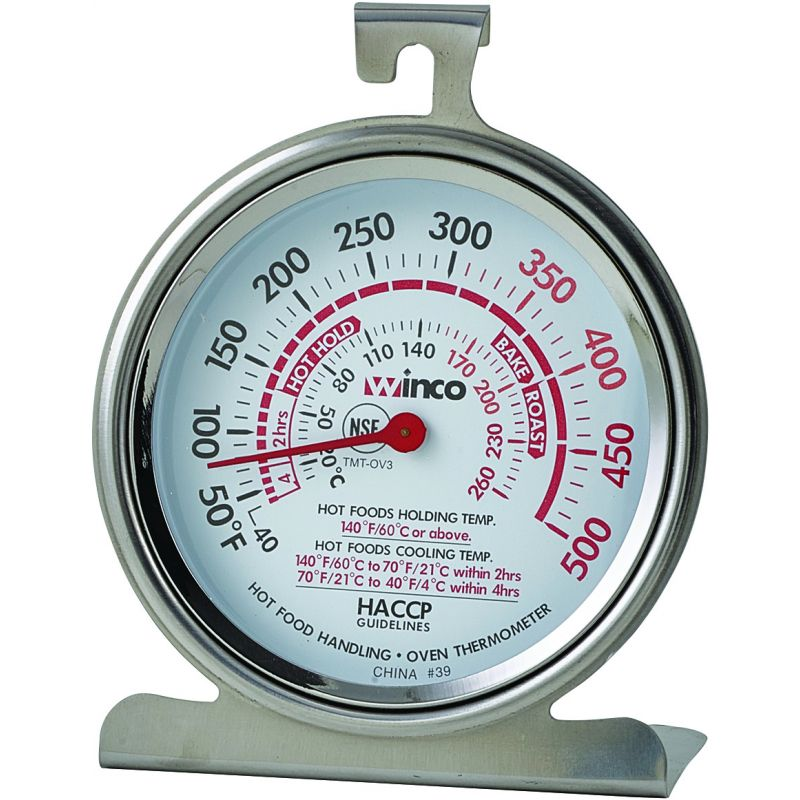 Oven Thermometer, 3 inches Dial