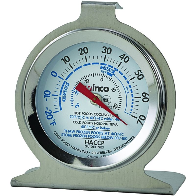 Freezer/Refrig Thermometer, 2 inches Dial