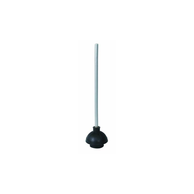 Toilet Plunger, 19 inches Wooden Hdl
