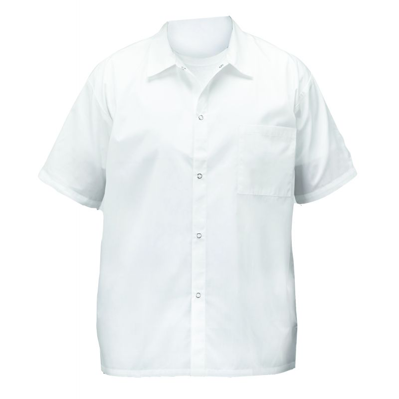 Chef shirts, white, 2X