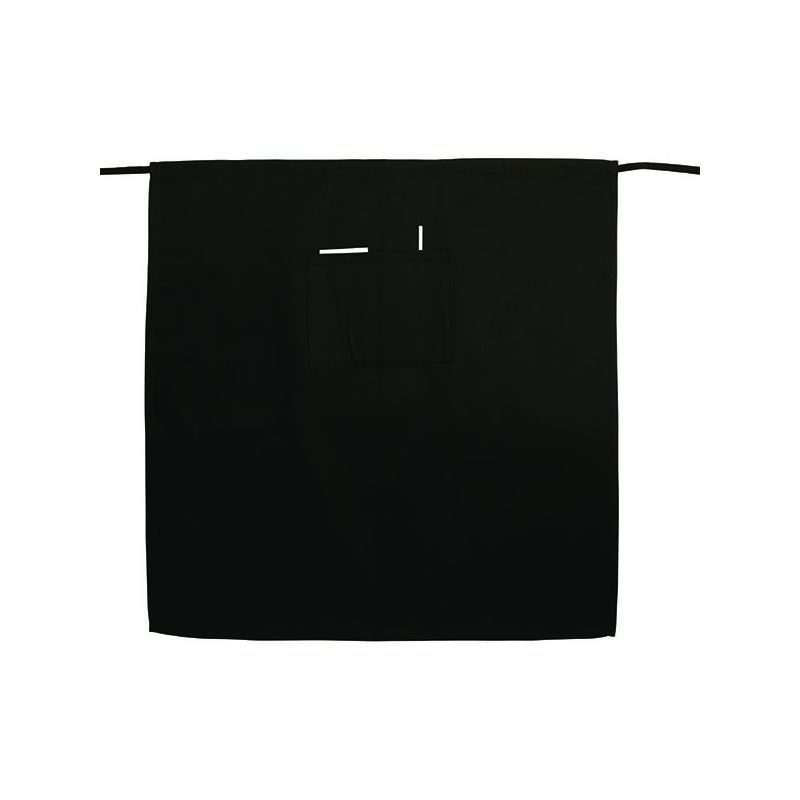 Bistro Apron, Full Length, Black
