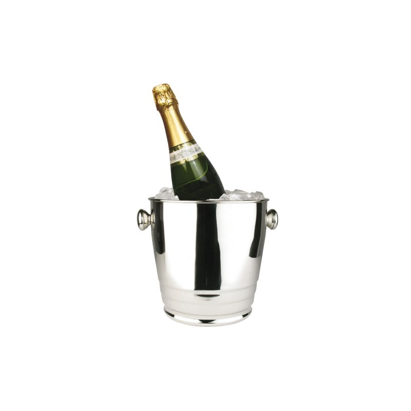 4qt Premium Wine Bucket, Mirror Finish