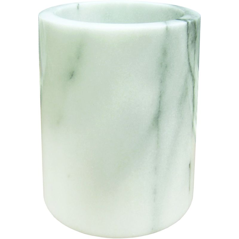 Wine Cooler, White Marble