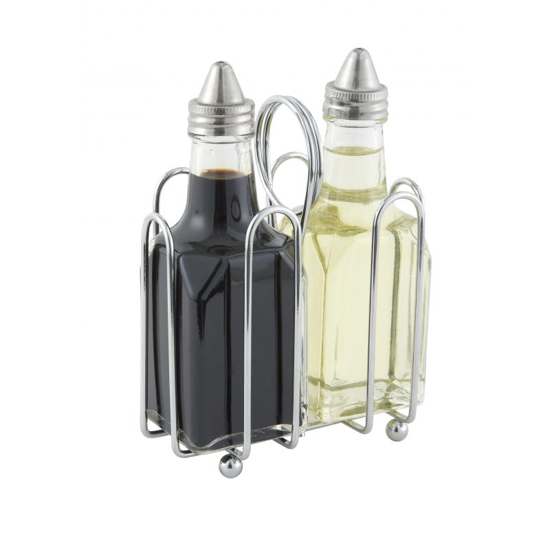 Condiment Holder, Sugar Packets, Chrome Plated Wire